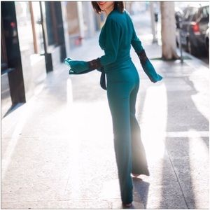 NWT Stone Cold Fox Stevie Jumpsuit in green